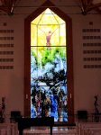 Gøta church window