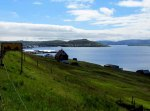 Skálafjørður bay looking south