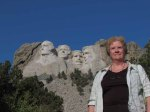 Jenny with 4 presidents