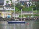 Sailing ship in Fuglafjørður