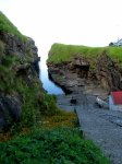 The gorge in Gjógv.