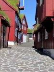 Old cobblestone streets