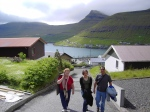 Jenny, Natasha, and John in Fuglafjørður, Faroe Islands (2006)