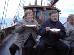 Jenny Henke & Heðin Kamsdahl in the Faroe Islands (2006)