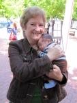 Jenny Henke & baby Eliott Jacob (summer 2009)