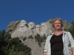 Jenny Henke at Mount Rushmore (September 2012)