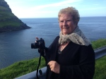 Jennifer Henke in the Faroe Islands, summer 2014 (photo courtesy of Matthew Workman)