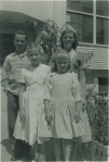 Young Jennifer Jacobsen, with family